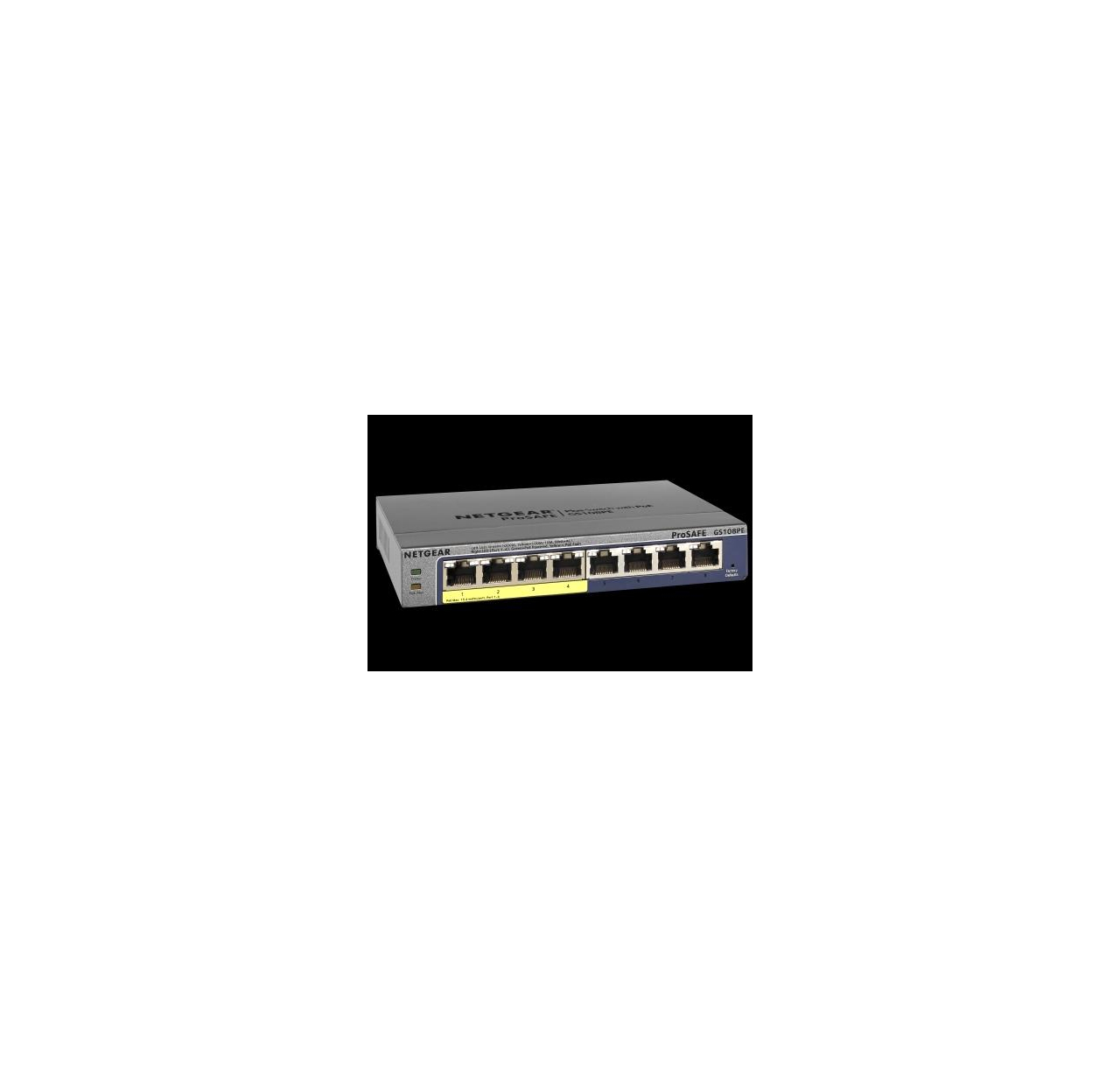 Switch  Netgear ProSafe Plus 8-Port Gigabit , 4x PoE (GS108PE v3)