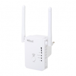 8level WRP-300A WiFi Repeater  300Mbps 802.11n, 1xWAN/LAN, 1xLAN, 2xantena