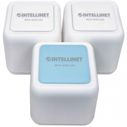 Intellinet Zestaw Whole Home MESH WiFi AC1200 2.4GHz + 5GHz GIGA LAN (3-pack)