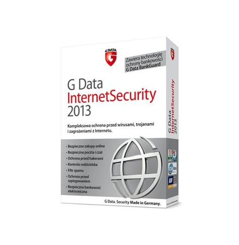 G Data InternetSecurity 2013, 1PC, 1 ROK (GData)