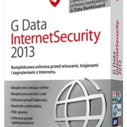 G Data InternetSecurity 2013, 1PC, 2 LATA (GData)
