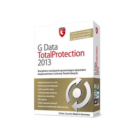 G Data TotalProtection 2013, 1PC, 3 LATA (GData)