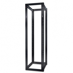 APC NetShelter 4 Post Open Frame Rack 44U #12-24 Threaded Holes