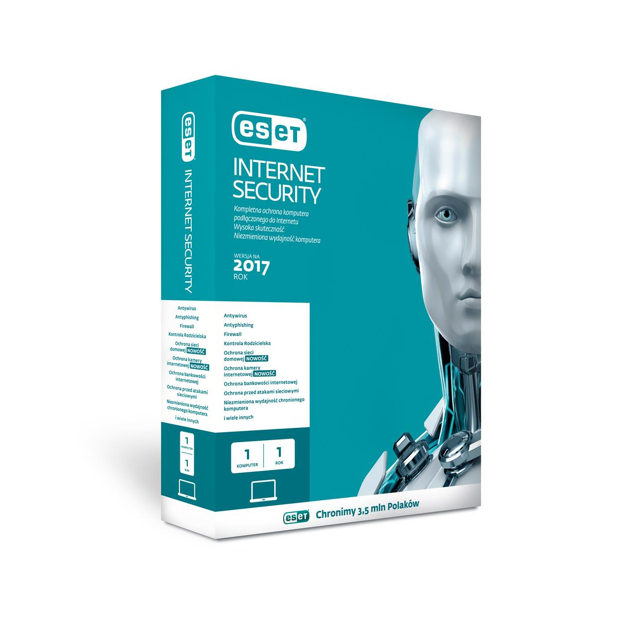 ESET Internet Security BOX 1U 24M