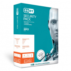 ESET Security Pack 1+1 BOX 1U 24M
