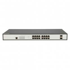 EXTRALINK ARES 16-port GbE Managed 330W PoE Switch, 2x SFP Up-Link