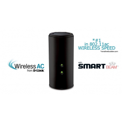 Router D-Link Wireless AC1750 Dual Band Gigabit Cloud USB 3.0
