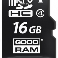 GOODRAM Karta Pamięci Micro SDHC 16GB Class 4 + Adapter