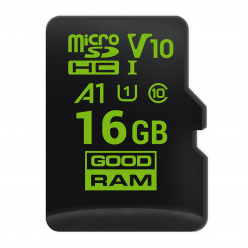 GOODRAM Karta Pamięci Micro SDHC 16GB Class 10 UHS-I A1 android