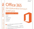 Microsoft Office 365 Home 32-bit/x64 Polish Subscr 1YR Eurozone Medialess P2