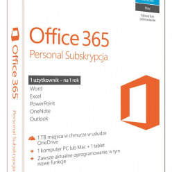 Microsoft Office 365 Personal Subskrypcja 1 rok