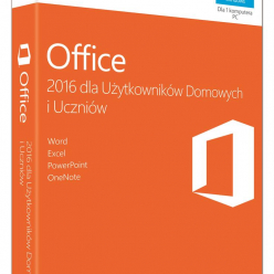 Microsoft Office Home and Student 2016 Polski