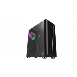 Obudowa  ATX Tacens MARS GAMING MCX RGB STRIP ATX USB 3.0 - 1x120mm RGB FAN
