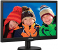 Monitor   Philips LED 18,5'' 193V5LSB2/10,  EPEAT Silver, ES 6.0, czarny