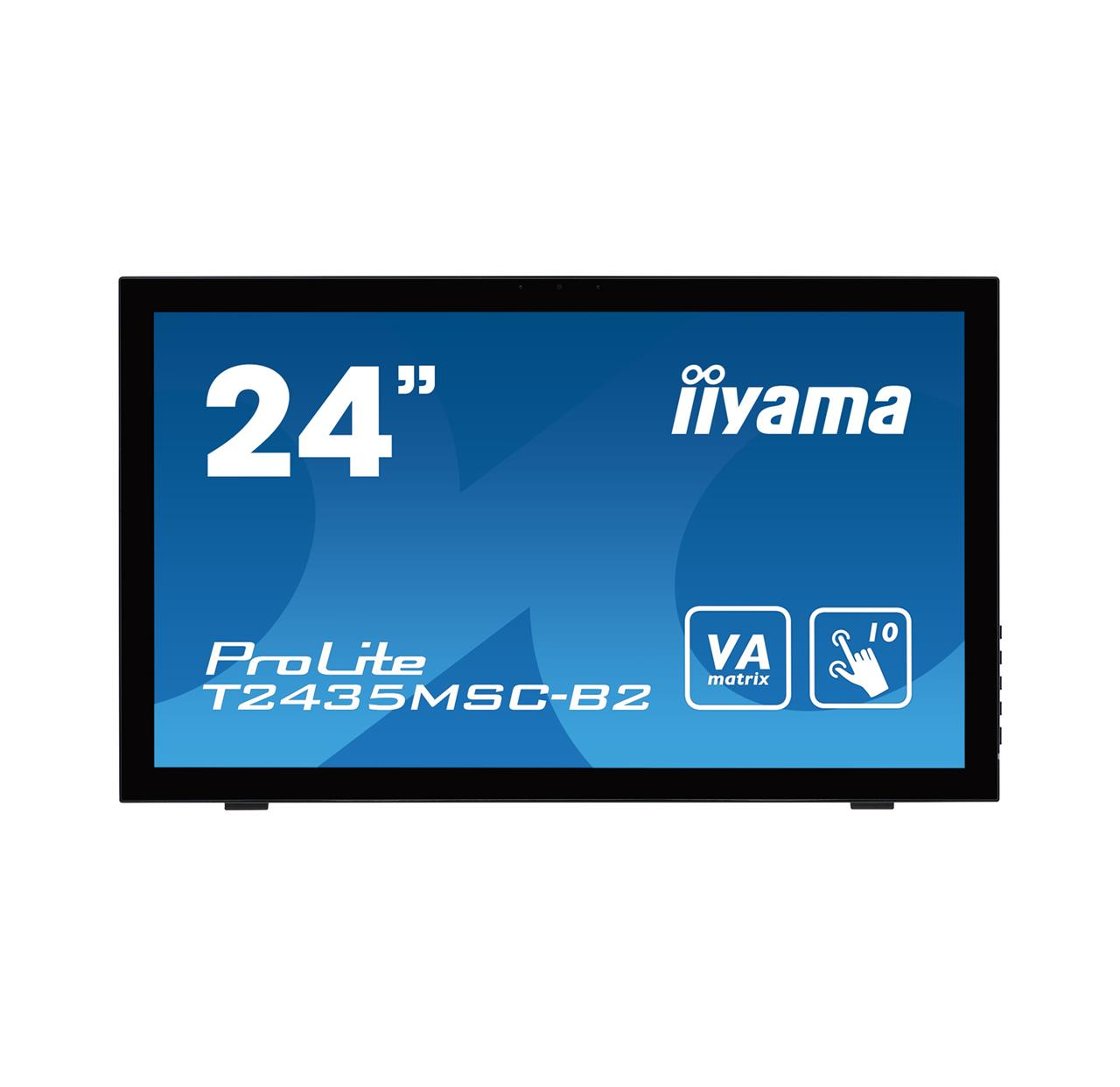 Monitor  IIyama T2435MSC-B2 23.6inch, VA touchscreen, Full HD, DVI-D, HDMI, DP