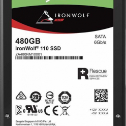 Dysk Seagate IronWolf 110 SSD 2.5'', 480GB, SATA/600, 560/535 MB/s, 7mm, 3D NAND