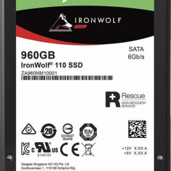 Dysk Seagate IronWolf 110 SSD 2.5'', 960GB, SATA/600, 560/535 MB/s, 7mm, 3D NAND