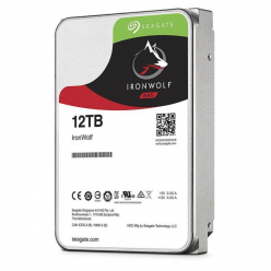 Dysk Seagate IronWolf, 3.5'', 12TB, SATA/600, 7200RPM, 256MB cache