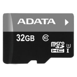 ADATA karta pamięci Micro SDHC 32GB UHS-I  U1  Class 10  (Video Full HD)