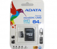ADATA Premier Micro SDXC UHS-I 64GB (Video Full HD) +SDHC Adapter