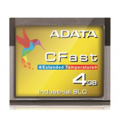 Karta pamięci Adata CFast Card 4GB, Wide Temp, SLC, -40 to 85C