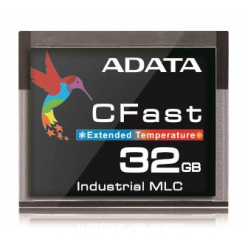 Karta pamięci Adata CFast Card 32GB, Wide Temp, MLC, -40 to 85C