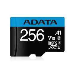 Karta pamięci ADATA 256GB Premier MicroSDHC, R/W up to 100/25 MB/s, with Adapter