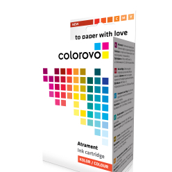 Atrament COLOROVO 985-C | Cyan | 560 str. | Brother LC985C