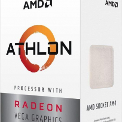 Procesor AMD Athlon 240GE  Radeon Vega Graphics Dual Core 3500MHz 5MB AM4 35W
