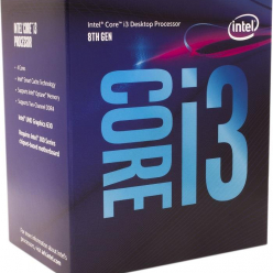 Procesor   Intel Core i3-8100 Quad Core 3.60GHz 6MB LGA1151 14nm BOX