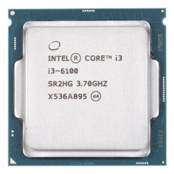 Procesor  Intel Core i3-6100, Dual Core, 3.70GHz, 3MB, LGA1151, 14nm, 51W, VGA, TRAY