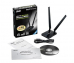Karta sieciowa Asus USB-N14 Wireless USB Adapter 802.11n, 300Mbps, detachable 5dBi x2
