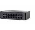Switch  Cisco SF110D-16HP 16-Port 10/100 PoE Desktop Switch