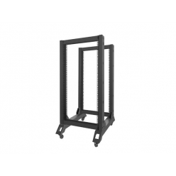 Lanberg stojak open rack 19'' 22U 600x800mm czarna