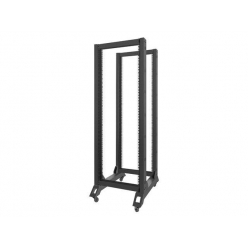 Lanberg stojak open rack 19'' 32U 600x800mm czarna