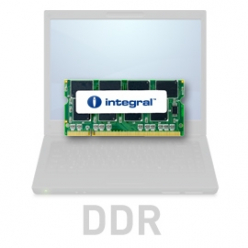 Pamięć Pamięć SODIMM Integral 1GB DDR-333  SoDIMM  CL2.5 R2 UNBUFFERED  2.5V