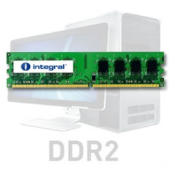 Pamięć RAM Pamięć Ram  Integral 2GB DDR2-667  DIMM  CL5 R2 UNBUFFERED  1.8V