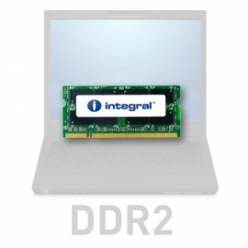 Pamięć Pamięć SODIMM Integral 2GB DDR2-667  SoDIMM  CL5 R2 UNBUFFERED  1.8V