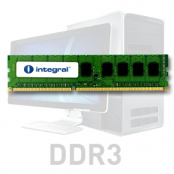 Pamięć RAM Pamięć Ram       Integral 8GB DDR3 1066Mhz DIMM CL7 R2 UNBUFFERED 1.5V