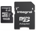 Integral microSDHC/XC A1 App Performance 16GB (with Adapter to SD Card)