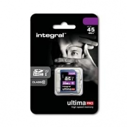 Integral karta pamięci 32GB ULTIMAPRO SDHC 45MB/S CLASS 10 UHS-I