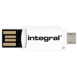 Czytnik Integral On-The-Go microSDHC/XC, USB, microUSB