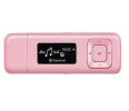 Transcend 8GB Player Mp3 T-Sonic 330,Różowy, FM radio, line-in & voice recording