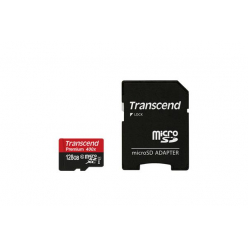 Karta pamięci Transcend microSDXC 128GB Class 10, UHS1 ULTIMATE + Adapter