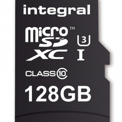 Karta pamięci Integral MICRO SDXC 128GB (with Adapter to SD Card)