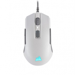 Corsair mysz gamingowa M55 PRO RGB, White, 12000 DPI, Optical