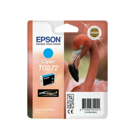 Tusz Epson T0872 cyan Retail Pack BLISTER | Stylus Photo R1900