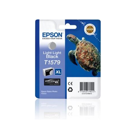 Tusz Epson T1579 Light Light black | 25,9 ml | R3000