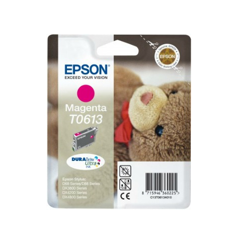 Tusz Epson T0613 magenta DURABrite | Stylus D68 Photo Edition/88/88 Plus,DX38...