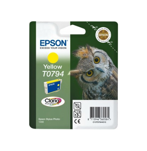 Tusz Epson T0794 yellow | Stylus Photo 1400